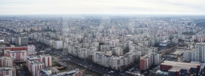 Aerial view of Rahova - Bucharest