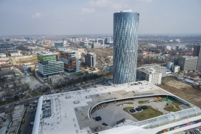 Business center of Bucharest