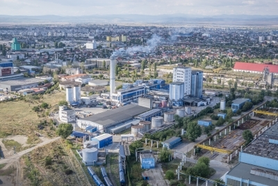 Fotografii aeriene de marketing - zona industriala - Buzau